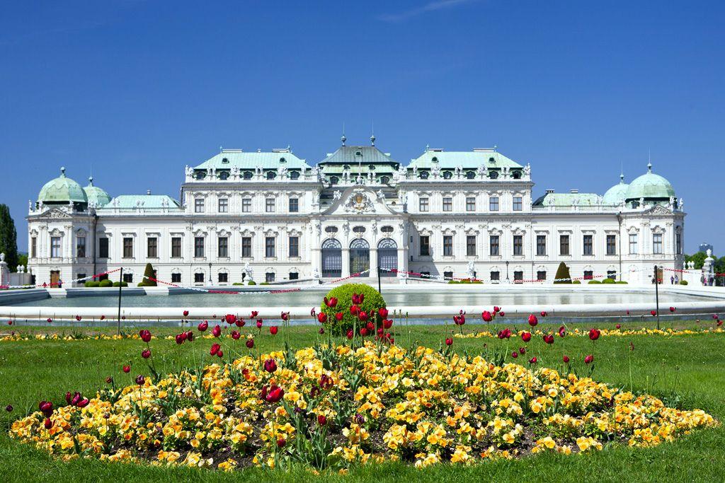 Добро пожаловать во дворец Бельведер в Вене!