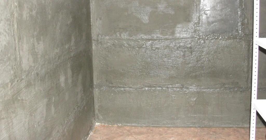 Бетонирование стен и вентиляция подвала