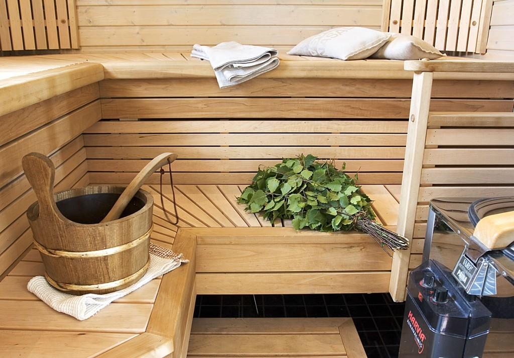Вентиляция, мебель и ароматы в сауне