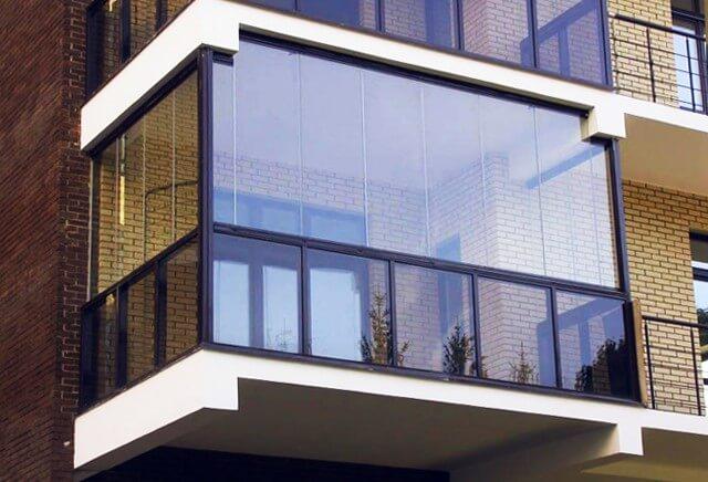 Остекленные лоджии и балконы