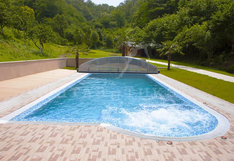 Выбор варианта бассейна на садовом участке