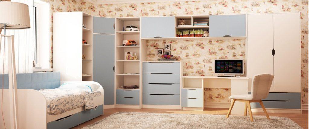 Мебель для детской комнаты мальчику: советы специалиста