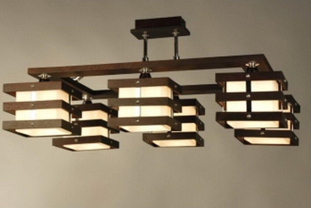 Светильники из фанеры: примеры и изготовление люстры из дерева своими руками