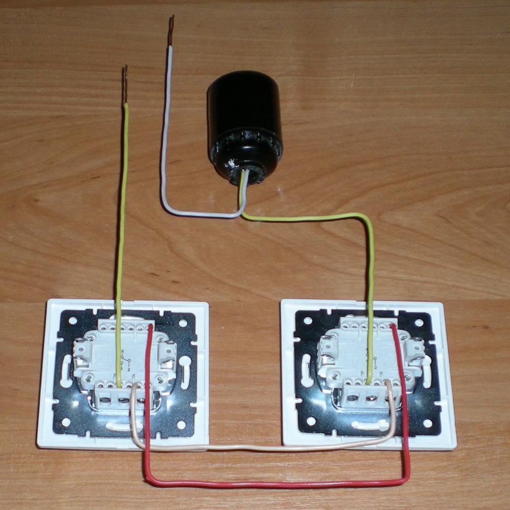 настенный светильник схема подключения