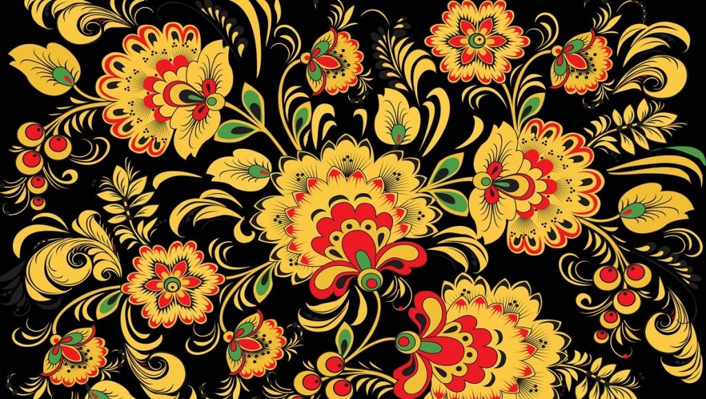 Цвета и композиция росписи по дереву. Основные свойства цветов