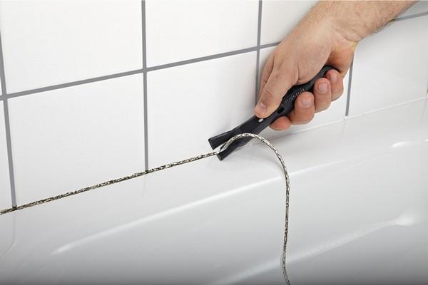 7 способов, как герметизировать ванну. Герметик.