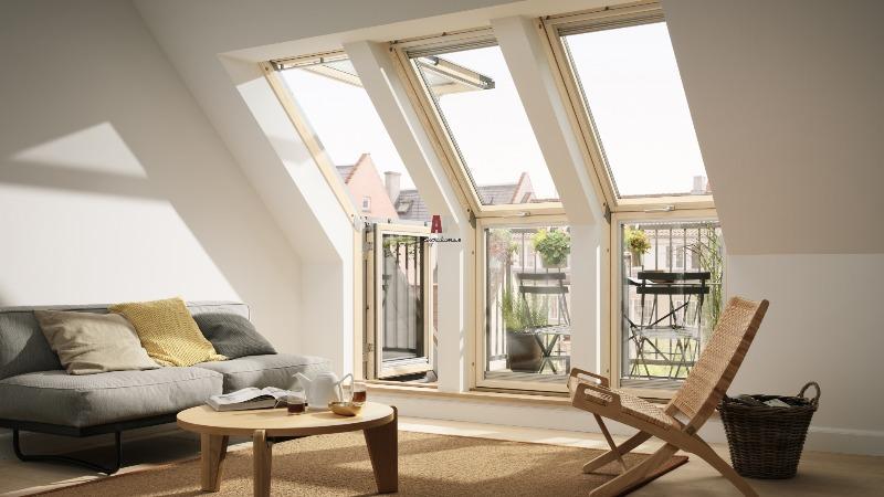 Дома с мансардными окнами фото