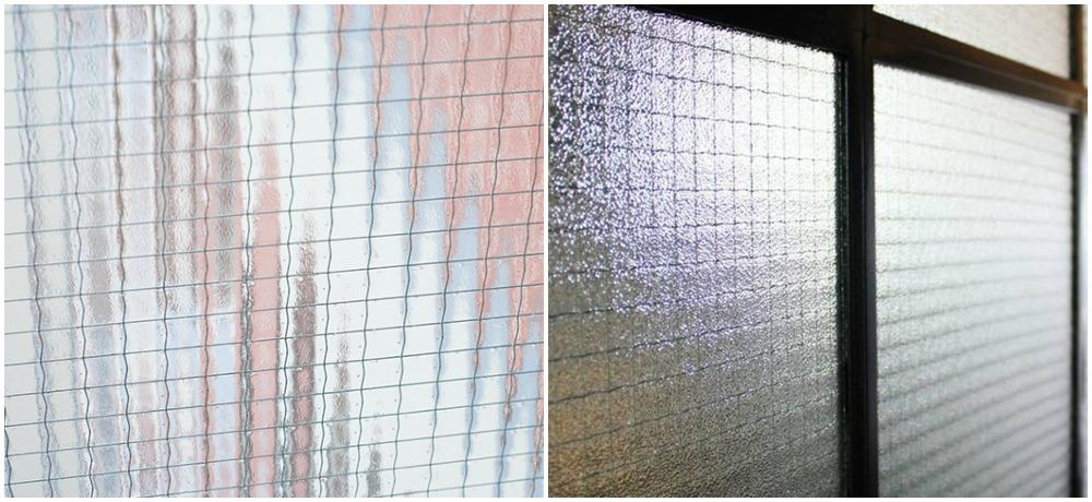 Армированное стекло в интерьере